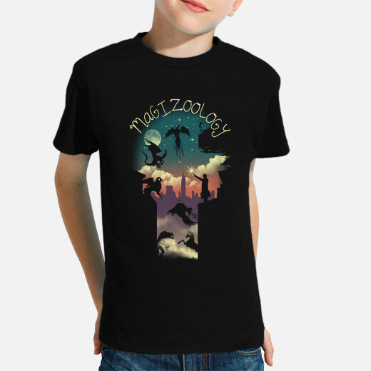 Magical beasts kids clothes