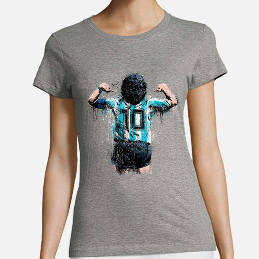 Maradona 10 girl t-shirt