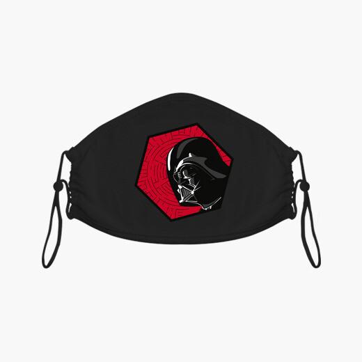 Mascarilla 80s Vader