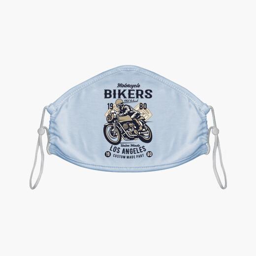 Mascarilla Biker American Custom...