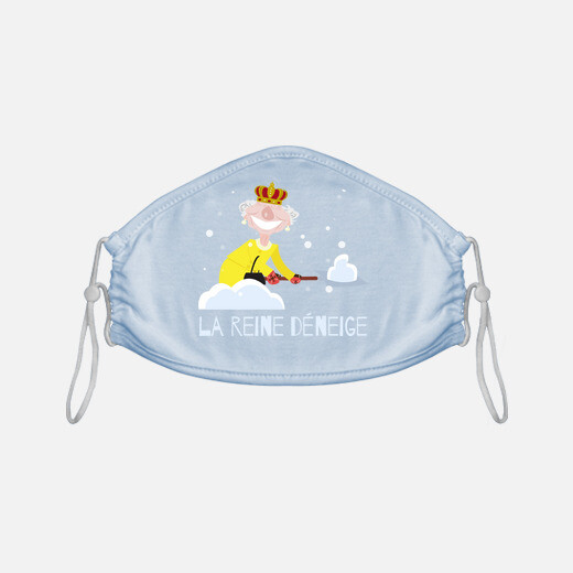Mascarilla la reina de la Nieve
