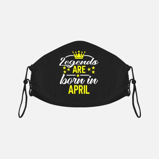 Mascarilla las leyendas nacen en abril