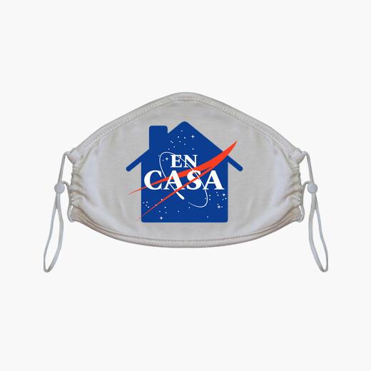 Mascarilla NASA quedateencasa COVID19