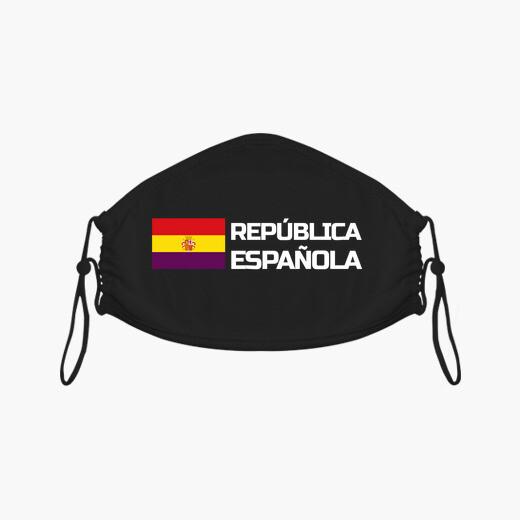 Mascarilla REPÚBLICA ESPAÑOLA