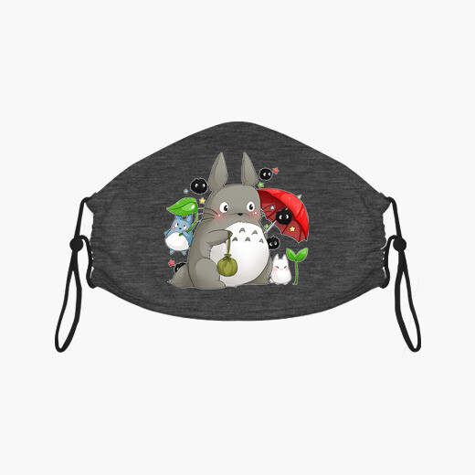 Masque totoro and friends