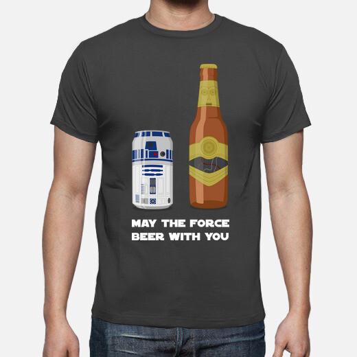 may the force beer with you black