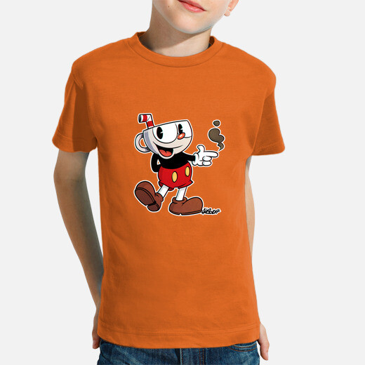 Mickey cup kids clothes