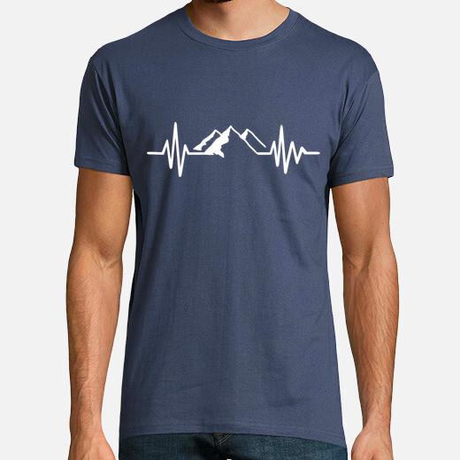 Mountain frequency t-shirt