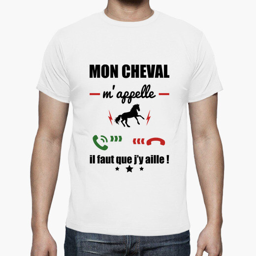 My horse is calling riding t-shirt