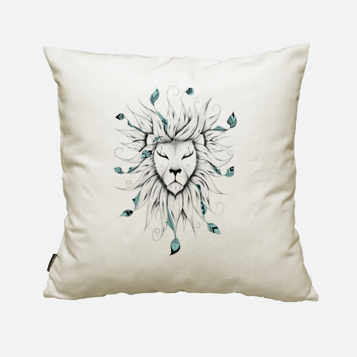Poetic king cushion cover