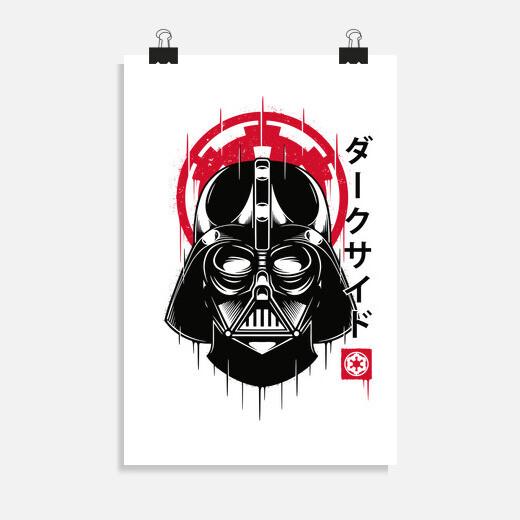 Póster Dark Leader Japanese Art Style