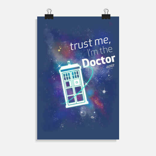 Póster Dr Who: Trust Me, I'm the Doctor
