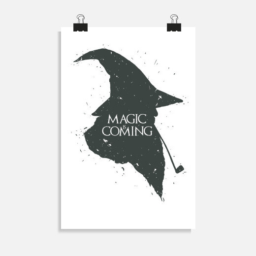 Póster Magic is Coming