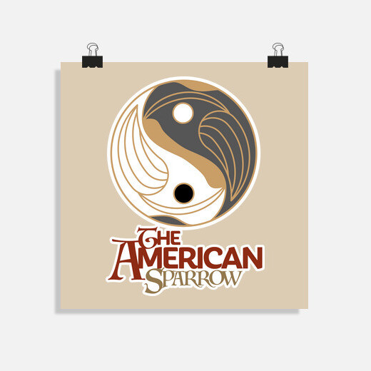 Póster The American Sparrow t-shirt