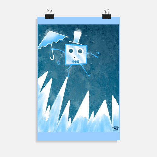 Póster The little Ice Cube