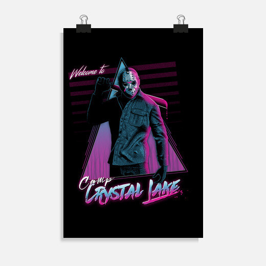 Póster Welcome to camp crystal lake