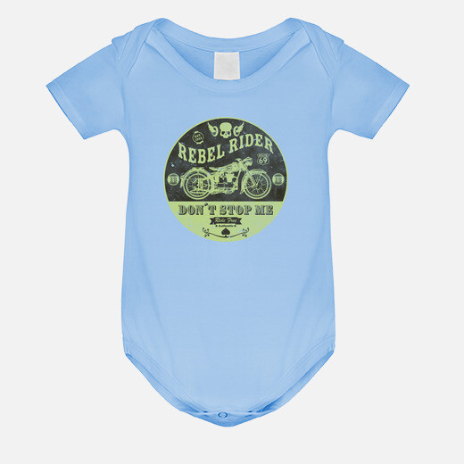Rebel rider don39t stop me kids clothes