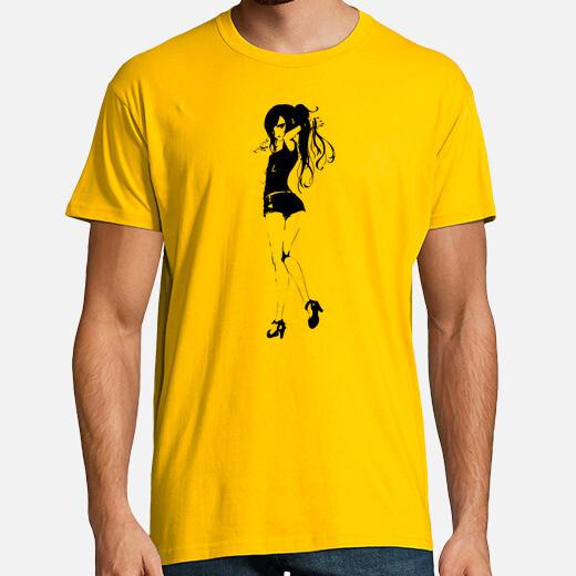Red Girl - Camiseta Hombre