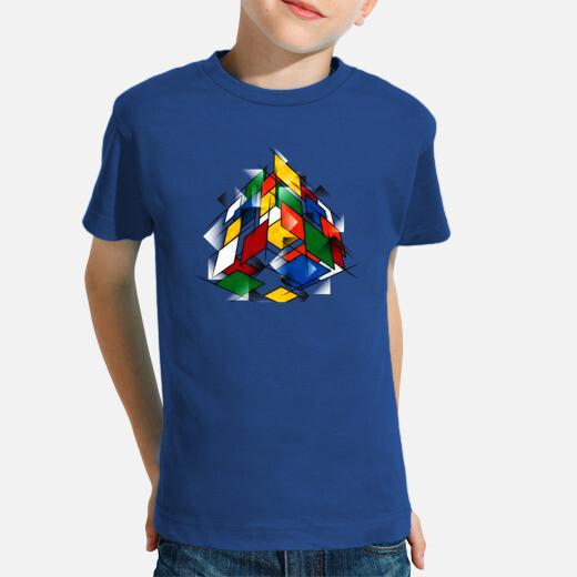 Ribiks cubism children's clothes