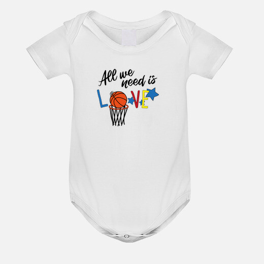 Ropa infantil ALL WE NEED IS BASKETBALL