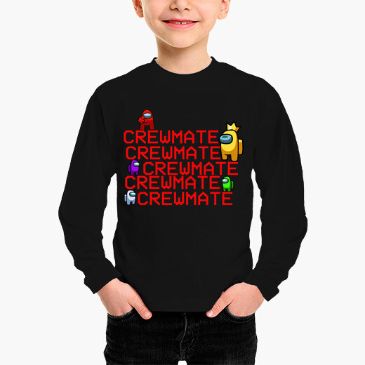 Ropa infantil Among us crewmate stairs