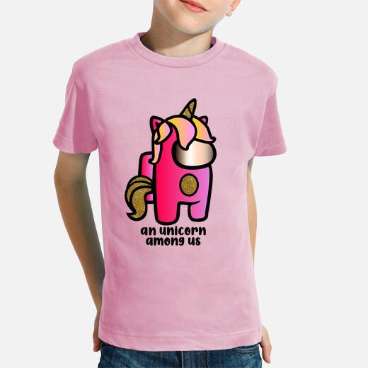 Ropa infantil Among us unicornio impostor...