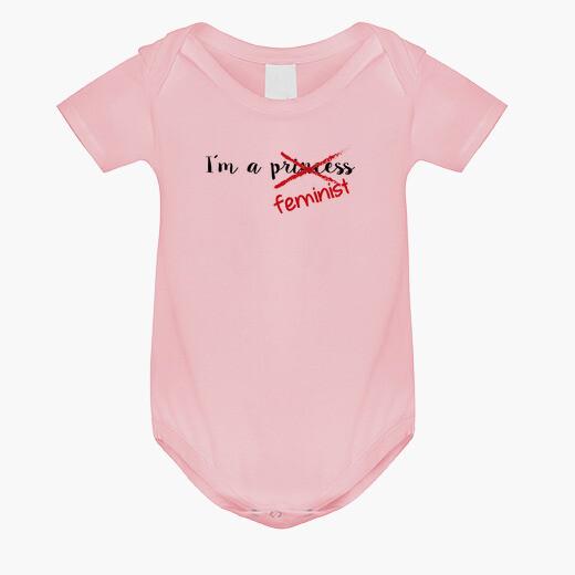 Ropa infantil Body bebé Feminist