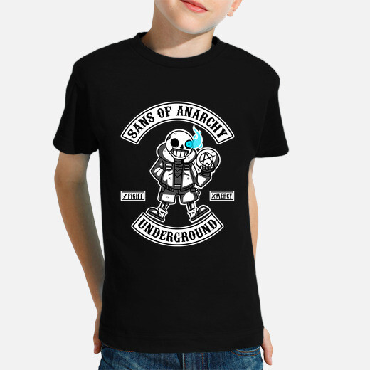 Ropa infantil Camiseta Niño Sans of Anarchy