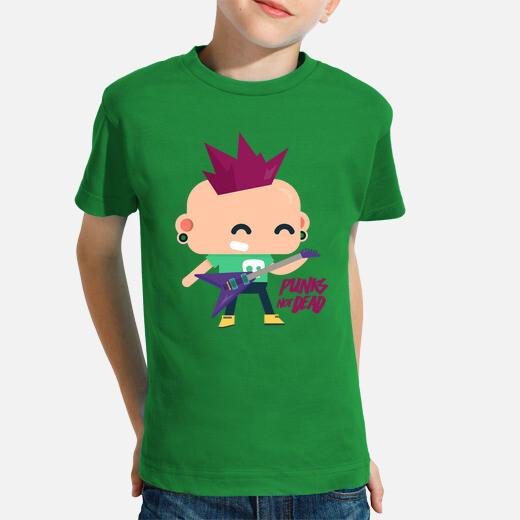 Ropa infantil Camiseta Punks not dead