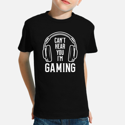 Ropa infantil Cant hear you Im playing