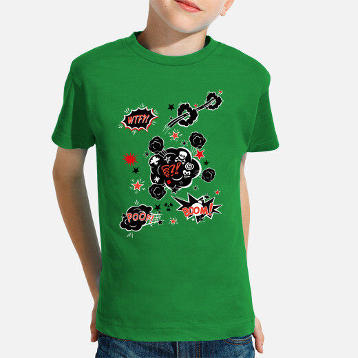 Ropa infantil Comic - iconos - expresiones