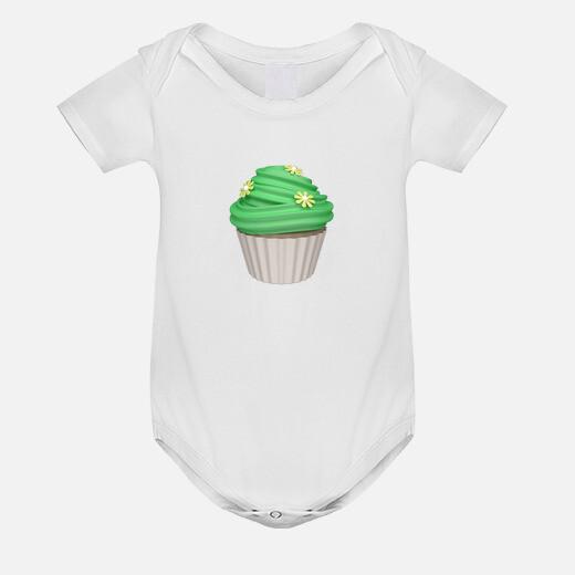 Ropa infantil Cupcake de menta