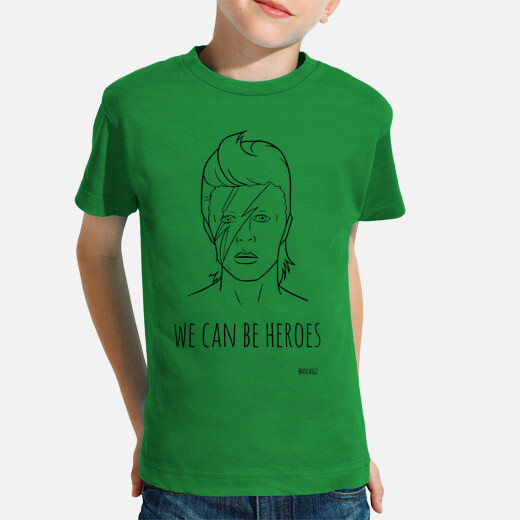 Ropa infantil David Bowie - We can be heroes