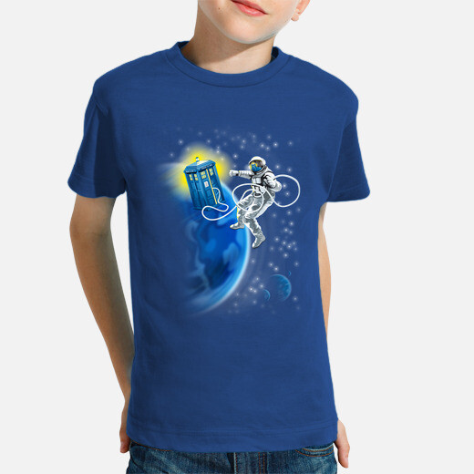 Ropa infantil dr. who - paseo espacial