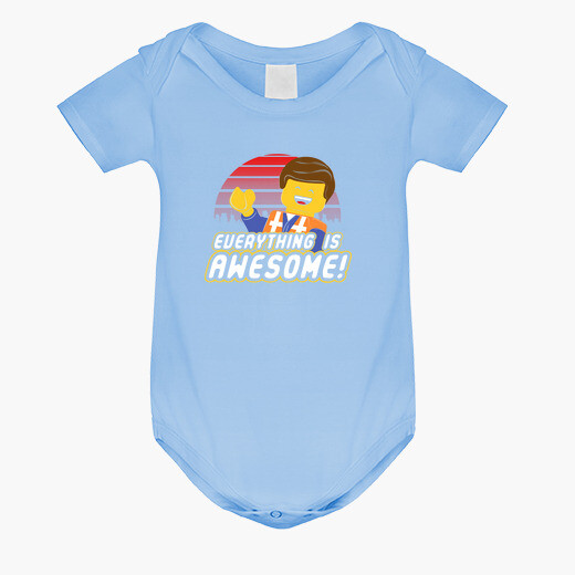 Ropa infantil Everything is awesome!