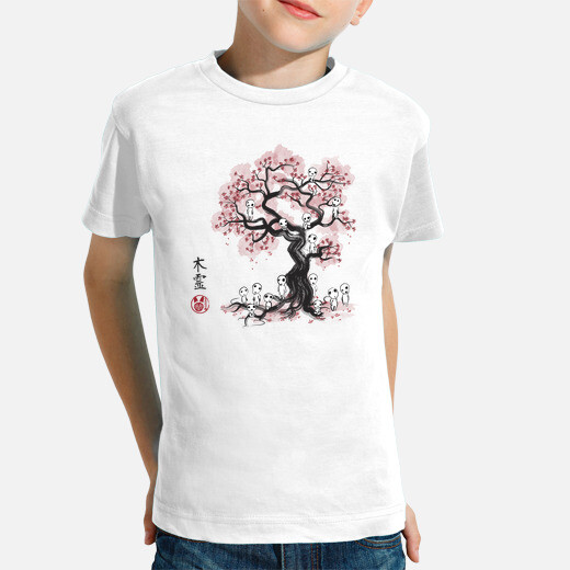 Ropa infantil Forest Spirits Sumi-e