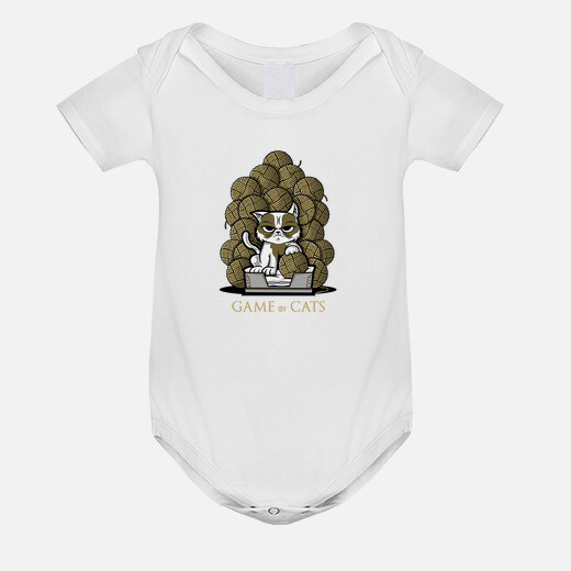 Ropa infantil Game of Cats