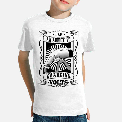Ropa infantil I AM AN ADDICT TO CHARGING...