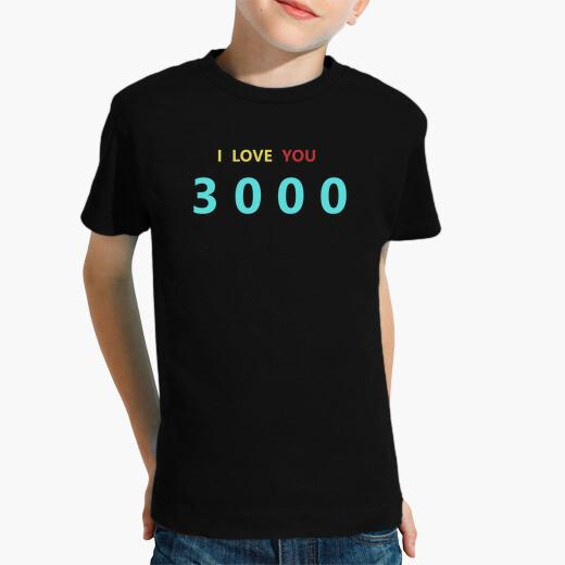 Ropa infantil I Love You 3000