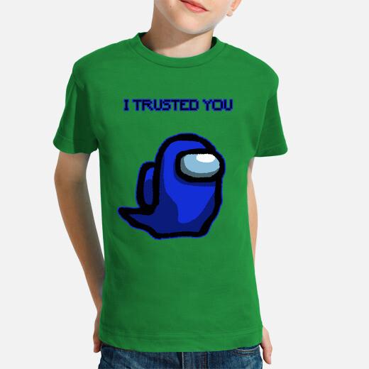 Ropa infantil I trusted you dark blue