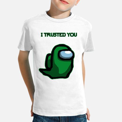 Ropa infantil I trusted you dark green