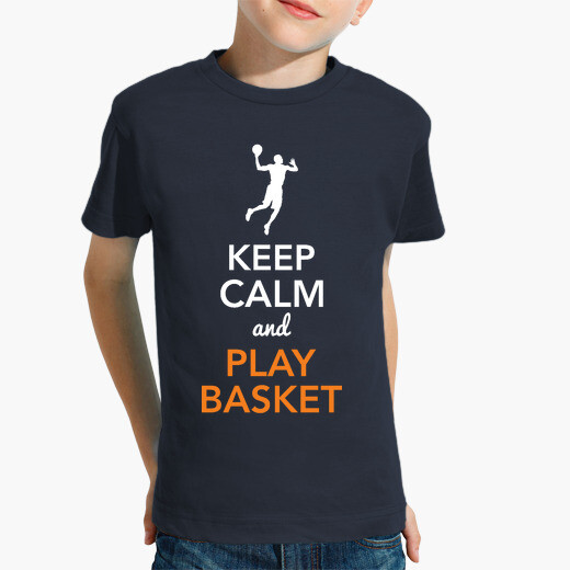 Ropa infantil Keep Calm and Play Basket...