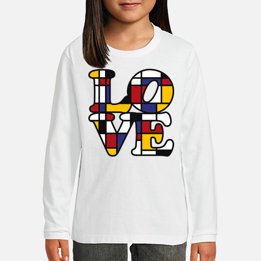 Ropa infantil LOVE - Inspired by Mondrian