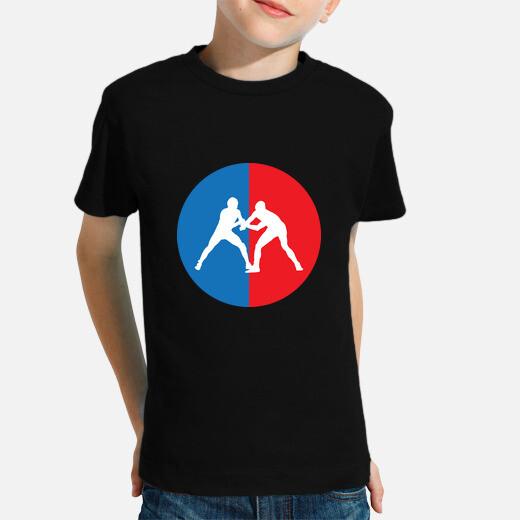 Ropa infantil luchar contra la camisa -...
