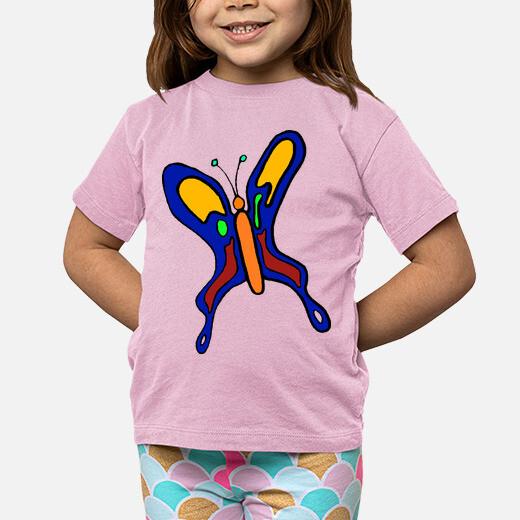 Ropa infantil Mariposa colorida