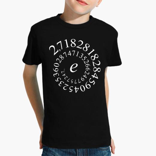 Ropa infantil Número e - Maths -