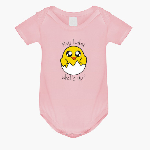 Ropa infantil Pollito what's up baby