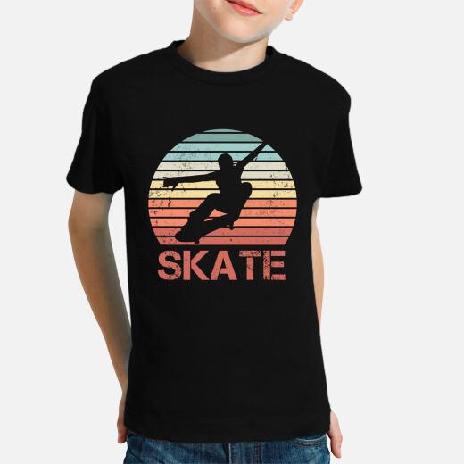 Ropa infantil regalo retro skate skate skater