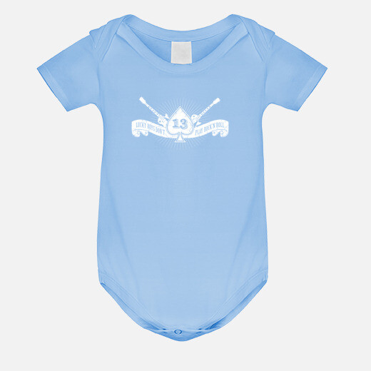 Ropa infantil Rock and Roll. As de picas...