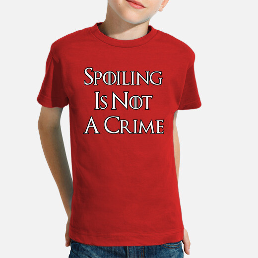 Ropa infantil Spoiling Is Not A Crime N